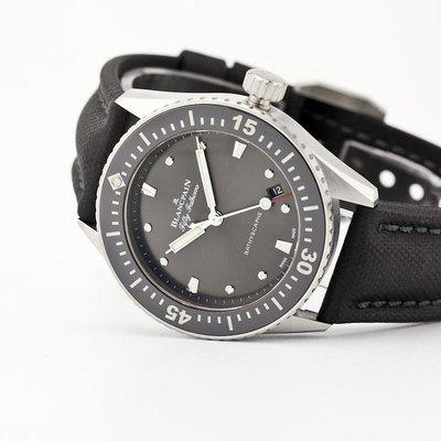 fsot - Blancpain Fifty Fathoms - Bathyscaphe - 38mm - 5100B-1110-B52 ( new / 2020 )