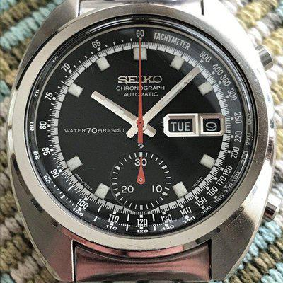 SOLD: Seiko 6139-6012 RESIST - October 1971 - EXC+ working condition