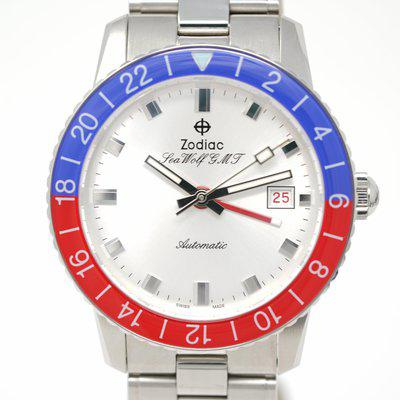 FS: Pre-Owned Zodiac Sea Wolf GMT 'Crystal' Topper Edition ZO9408