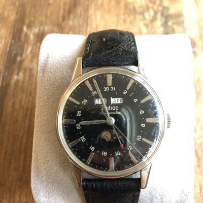 FS only: Zodiac triple date moon phase automatic