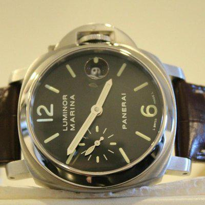 FS: Panerai Luminor Marina Acciaio PAM 48 40mm Watch with Boxes + Papers + SERVICE!!