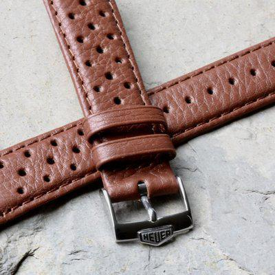 Great everyday wear Heuer buckle textured rally bands
