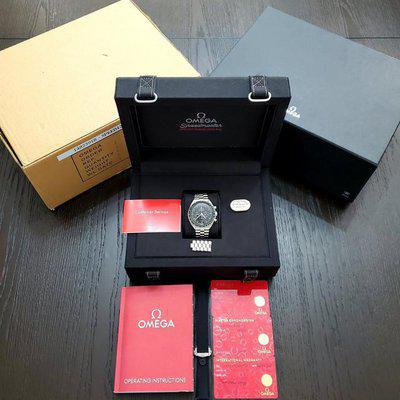 """FS: 2021 Speedmaster Moonwatch Co-Axial Master Chronometer """"Hesalite"""" Extra Omega Strap!!"""
