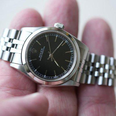 FS: Rolex Oyster Perpetual 67480 Non Date 31mm Black Dial.