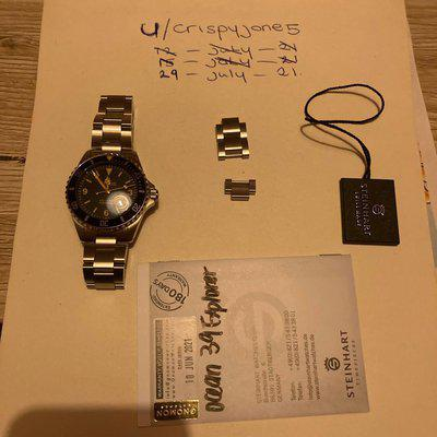 [WTS][REDUCED/REPOSTED] steinhart explorer gnomon exclusive
