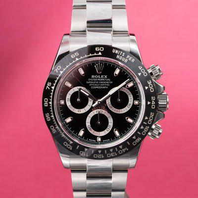 FS: 2020 Rolex Daytona 116500 Black Dial with Papers