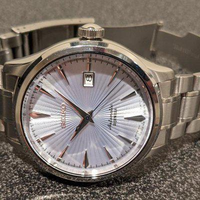 SOLD: Seiko SARB065 Cocktail Time Modded Watch based on SRP701 $125 Shipped
