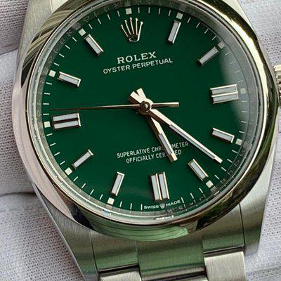 FS: Brand New Rolex 126000 Green Dial Oyster Perpetual 36MM New Sept Card!