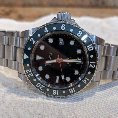 FS: SOLD Squale 1545 30 Atmos Alpine Green GMT Ceramica 42mm $625. Shipped