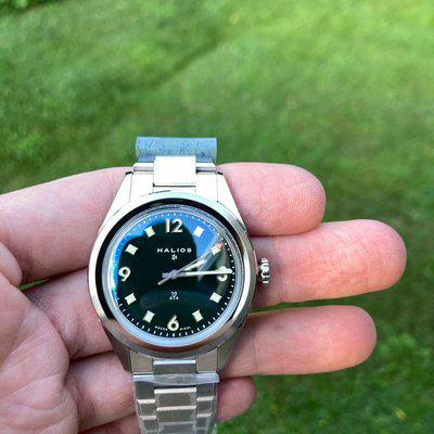 FS - Halios Universa Green Dial Huckberry Limited Edition - $1275 net in the USA