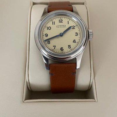 Longines Military Marine Pre-owned     $1,100