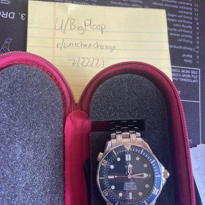 [WTS] Omega Seamaster Professional 2531.80 Freshly Serviced $2300