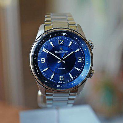 FS JEAGER LECOULTRE POLARIS AUTOMATIC BLUE DIAL STEEL ON BRACELET 41MM