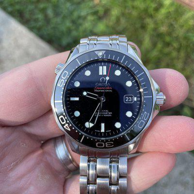 [WTS] Omega SMPc Black 41mm - 212.30.41.20.01.003 PRICE REDUCED