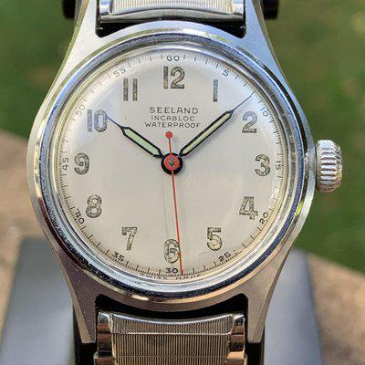 [WTS] Vintage 1940s Invicta Seeland field watch, recently serviced