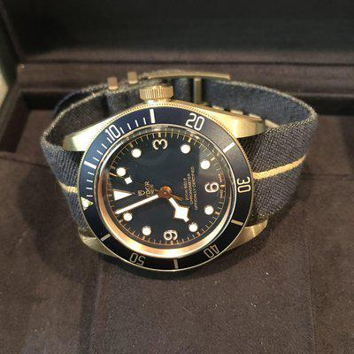 FS: TUDOR HERITAGE BLACK BAY BLUE BUCHERER