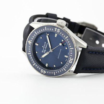 fsot - Blancpain Fifty Fathoms Bathyscaphe - Blue 38mm - 5100-1140-O52A (new / 2021)