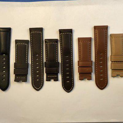 FS: Panerai OEM Original Leather Straps Brand New. 24/22 For Deployment Buckles and Tang Buckles