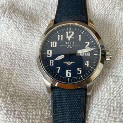 FS Ball Engineer III Silver Star 40mm Blue Dial - REDUCED