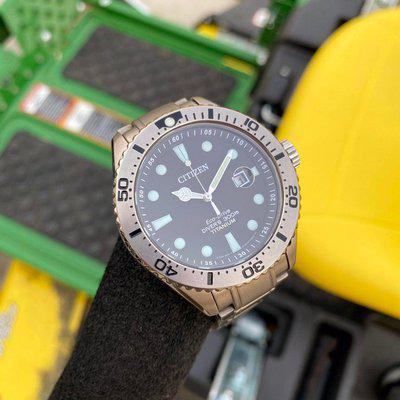 """[WTS] Citizen Promaster BN0141-53E """"Super Titanium"""" 300 Meters complete kit- top of the line diver extremely rare and limited edition"""