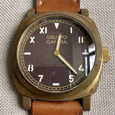 Gruppo Gamma Ascent brown california dial