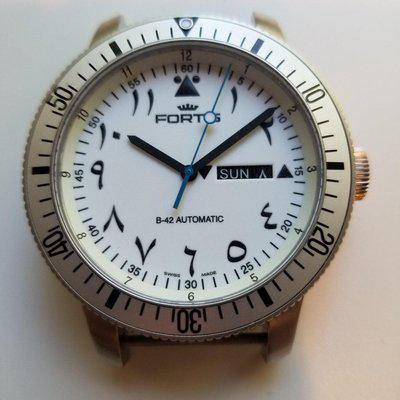 [WTS] Fortis B-42 Al Tayer edition day/date