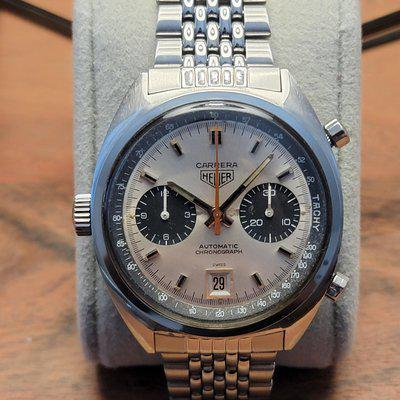 FS: 1969 Vintage Heuer Carrera 1153 s Caliber 11 First Execution