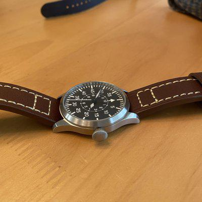 FS: Tisell 40mm Type B No Date Pilot Watch $140 OBO