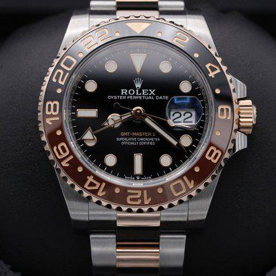 FSOT: Rolex GMT Master II - 126711CHNR - Rootbeer - Two Tone Rose Gold - 40mm - Mint