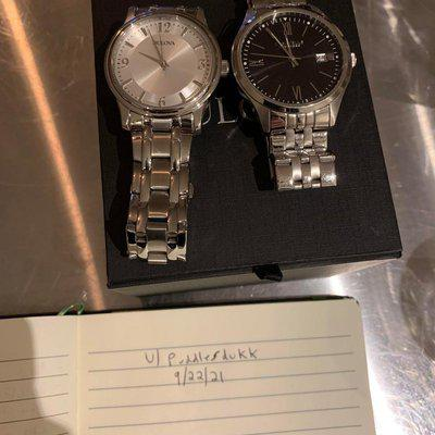 [WTS] Bulova and Caravelle, $90 each