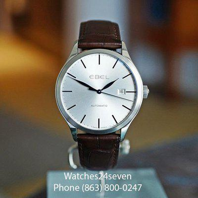 FS EBEL CLASSIC 100 AUTOMATIC DATE SILVER DIAL 40MM