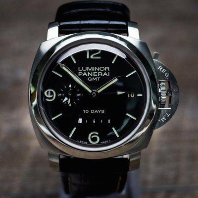 [WTS/WTT] Panerai Luminor 270 Steel GMT Watch 10 Day 44MM – Box, Papers, & Straps – PAM00270