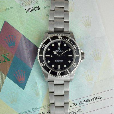 Rolex Submariner | 14060m - 2 Liner with Punched Paper