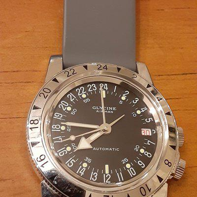 WTS: 2014 (Pre-Invicta) Glycine Airman 3944.2 Number One GMT (36mm)