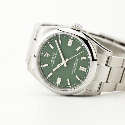 fsot - Rolex Oyster Perpetual - 36mm - OP36 - Green Dial - 126000 ( new / 2021 )