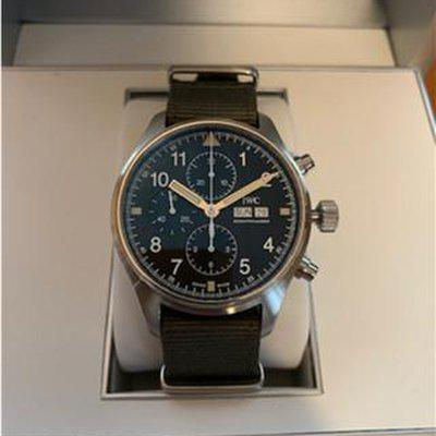 IWC Pilot 377724 Chronography - 3706 Tribute for Sale!