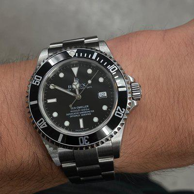 [WTS] 2005 Rolex Sea Dweller Ref. 16600 | Unpolished | Papers
