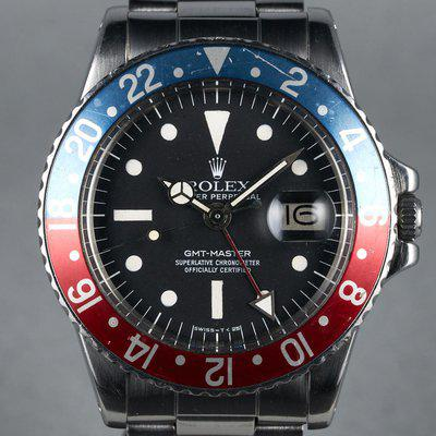 """FS: 1975 Rolex GMT Ref: 1675 with Mk III """"Radial"""" Dial"""