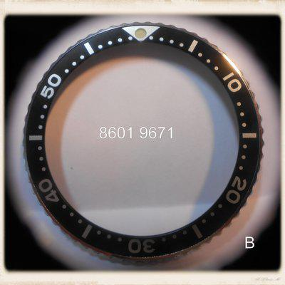 For Trade: Seiko bezel 8601-9671 (6309-7040) MINT condition.
