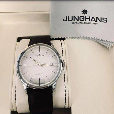 FS: $950 LNIB 38mm German Made Junghans Meister Automatic (white dial)