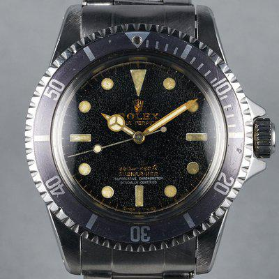 FS: 1964 Rolex Submariner Ref: 5512 PCG with Gilt Dial