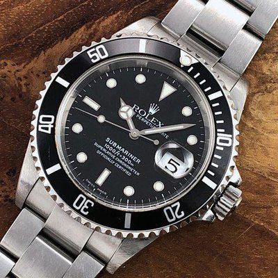 FS: 2000 P Serial Rolex Submariner Date 16610 w/ SEL & Papers