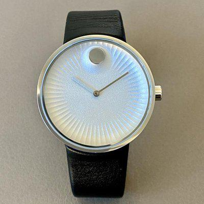 FS: Movado Edge 40mm Stainless Steel Quartz - Mint