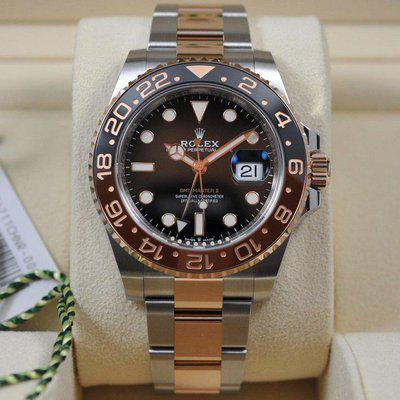 FS: BNIB Rolex GMT Master II 126711CHNR Two-tone (18k Rose Gold) Rootbeer - Complete!