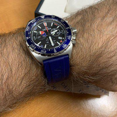 F/S Delma Oceanmaster Chronograph, Swiss Made Nautical Chronograph 44mm Brand new. REFERENCE: 41501.678.6.04