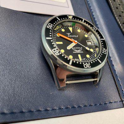 [WTS] Squale 1521 Polished on Tropic Strap full kit