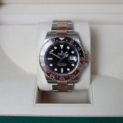 FSOT: MINT Rolex 126711CHNR GMT Master II Rootbeer - Full Set, New Style Card!