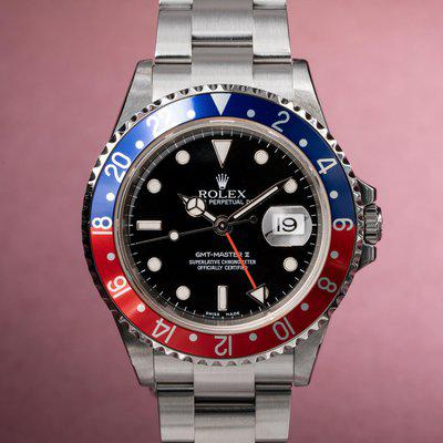 FS: 2004 Rolex GMT-Master II 16710 with Papers