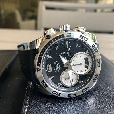 FSOT Parmigiani Pershing 002 near mint with boxes and papers