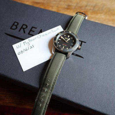 [WTS] Bremont S301-BK Full Kit & papers - 1 Additional Strap. $1700